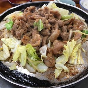 甘辛いタレがご飯に最高の相性!大安食堂のとんちゃん定食!