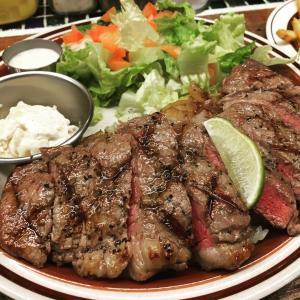あの肉の味が忘れられない!EVILTEXのステーキオーバーライス!