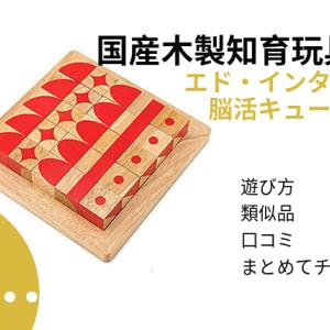 木製の立体パズル、 脳活キューブは親子で5年は遊べる良質なパズル【グッドトイ賞受賞!】