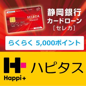申し込みだけで5,000ポイント!維持費0円!静岡銀行ローンカード