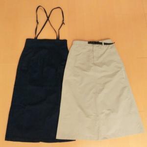 購入したスカート 好きな色は増える