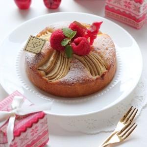 ケーク オ ポム & グラスチョコケーキ☆