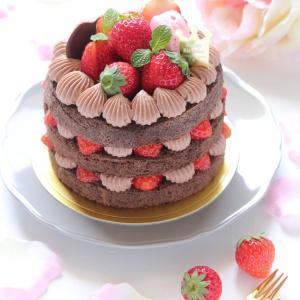 チョコレートケーキとつぶやき