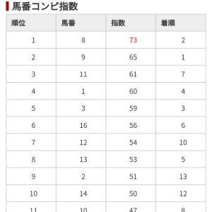 11/24 中央競馬(日刊コンピ)結果