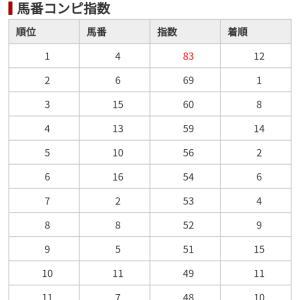 12/7 中央競馬(日刊コンピ)結果