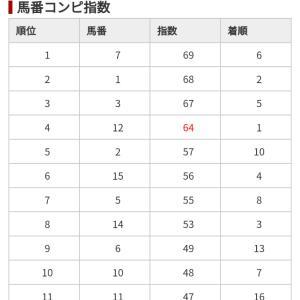 12/28 中央競馬(日刊コンピ)結果