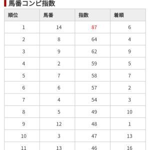 1/12 中央競馬(日刊コンピ)結果
