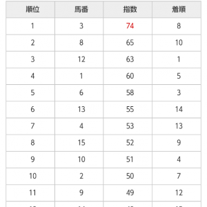 10/24 中央競馬(日刊コンピ)結果