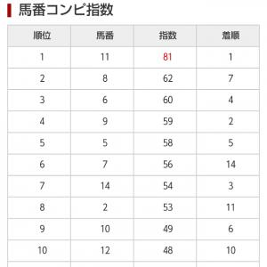 6/12  中央競馬(日刊コンピ)結果