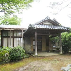 【売買】(要相談) 新潟県見附市福島町字内町 大正9年豪商が建設した来客用屋敷 回り廊下から広い庭園が見える