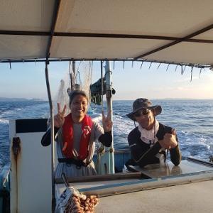 令和2年9月5日ウタセ真鯛釣り