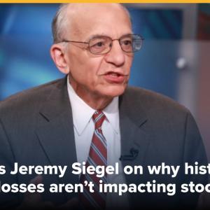 【2番底に警戒せよ!】シーゲル教授は、「3月の底値がまず間違いなく大底」って言うけれど。。