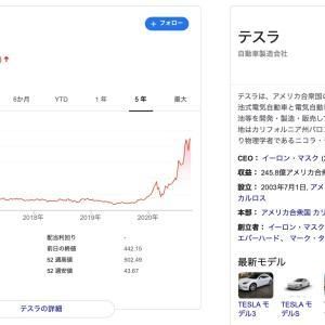【スピンさんからの質問☆】SBG株のボラは激しいけど、そのうちテスラみたいな株価になると思ってます(^^)
