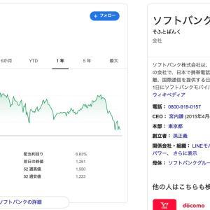 菅政権はソフトバンクグループの天敵かもしれない(^▽^;)