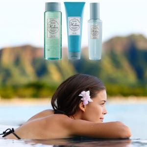 ハワイの恵みでくせ毛にアプローチ「コロアオーガニックシャンプー&トリートメント」