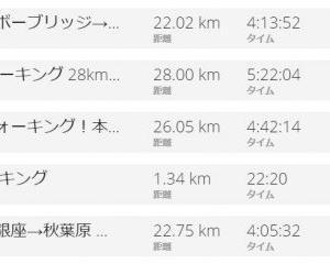 100km歩いて、たった0.64kgの減量!?ダイエットは食事制限が重要だと思う理由!