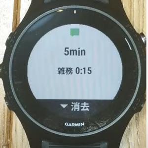 5分ごとに現在行動時間をスマートウォッチにプッシュ通知させたら…時間の速度が0.75倍になった!(感覚比)