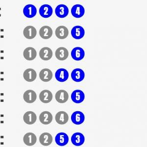 数学入門:順列(P記号)をシミュレーターで理解しよう!
