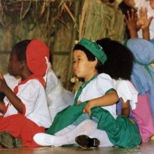 アフリカの子供達のクリスマス
