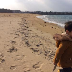 孫の日-海へ山へ公園へ