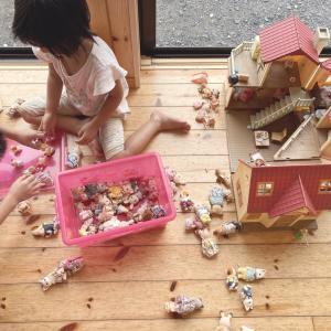 おもちゃはキレイに遊んでね?!