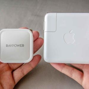60Wの「小型・軽量の急速充電器」特集。MacBook Proの充電&持ち運びやすさを重視