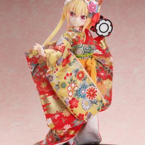【限定】「吉徳×F:NEX 小林さんちのメイドラゴン トール -日本人形- 1/4スケールフィギュア」予約開始