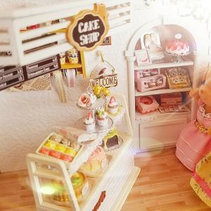 🍰ケーキ屋さん ⑫ ミニチュアドールハウス クッキー&ケーキ作り🍰