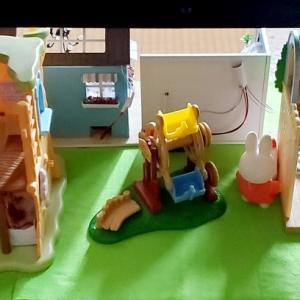 〈シルバニア〉フワフワ芝生のプレゼント ドラえもんとプリンセスエレナと遊べる世界 A8.netに登録するの巻き