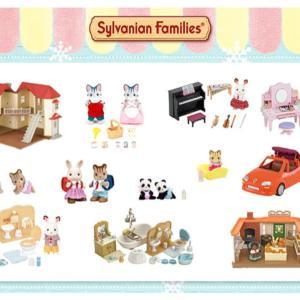 〈シルバニア〉森のおもちゃ屋さん ドキドキの福袋販売開始~ 中身公開✨