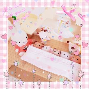〈ハンドメイド〉幼稚園用お布団セット作り🐰