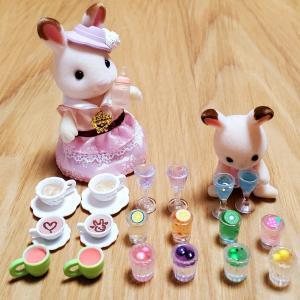 〈ハンドメイド〉手作りスライムでミニチュア ジュース&ゼリー作り ① 匂い・保存方法は? 簡単光るスライム💡