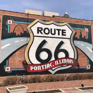 【イリノイ州】Route66をドライブ〜ポンティアック〜