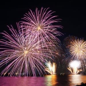 姪浜精霊流し花火大会2019は8月15日!穴場スポットや駐車場はココ!