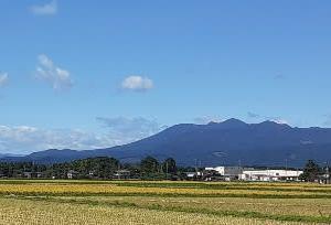 高原山と日光連山