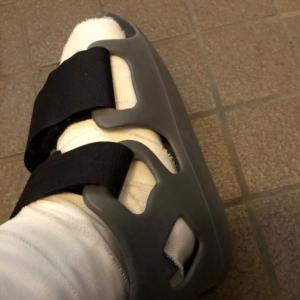 私の足首骨折日記 ⑧