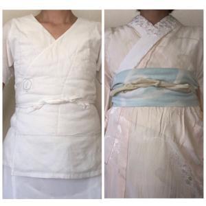 私の着物補整 3パターン比較 2021