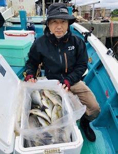 和歌山県 御坊市でイサキ釣り