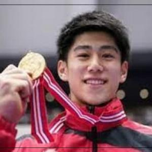 体操男子個人で橋本大輝が逆転で金メダル