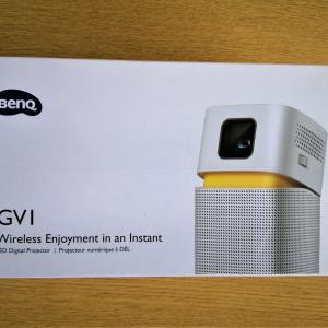 【GV1】BenQのプロジェクターは使い勝手良好です