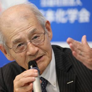 [海外の反応]ノーベル化学賞、吉野彰氏ら3人が共同受賞-リチウムイオン電池