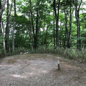 2泊の夫婦キャンプ㏌茶臼山高原休暇村キャンプ場。