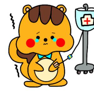 8月18日(日)はれ 過敏性腸炎
