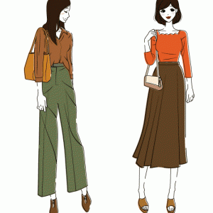 秋の洋服をそろそろ買いに行きます。