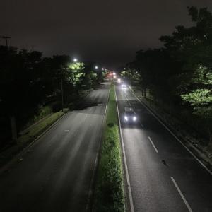 真夜中のドライブ