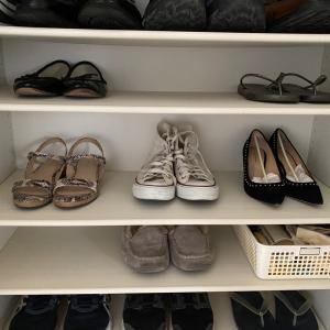 靴箱の片付け~シューズクローゼットいうのは照れ臭い