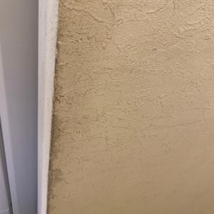 ペンキで壁を塗りました。夫が…