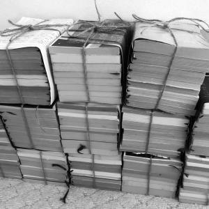 古い本と漫画の要不要途中経過