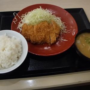 かつや八戸城下店 ロースカツ定食 (青森県八戸市)
