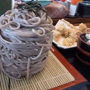 デカ盛りそばで有名な店でミニカツ丼とそば 悦中庵(青森県八戸市)